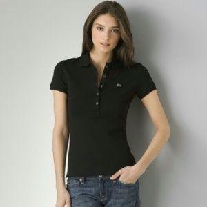 Lacoste Women's Button Polo Size 34 (S)